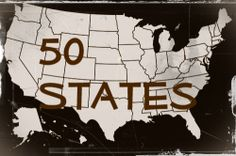 things to do/see in each state AMERICA, because we will probably live in a few different ones before we settle down