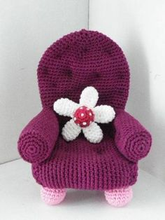 chair craft, doll, pattern, chairs, crochet toy, crochet amigurumi, knit, crochet chair, crochet barbie furniture
