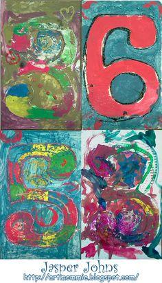 Cijfers schilderen