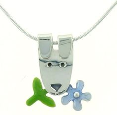 Dog w/ Forget Me Not Flower Enamel & Sterling Silver Pendant Necklace , http://www.amazon.com/dp/B003WGPO5K/ref=cm_sw_r_pi_dp_nr1.pb1A2A7MA