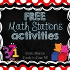 Looking for some simple, easy-to-use activities for your Kindergarteners to work on in Math stations? This little packet will supplement you math s...