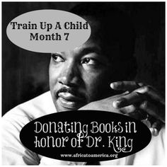 MLK Day of Service: Donating Books in Honor of Dr. King - from Africa to America