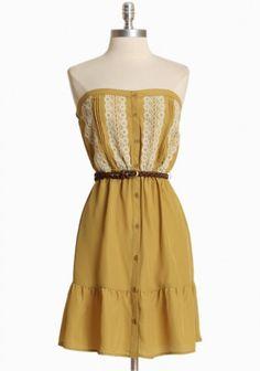 Rustic Impressions dress