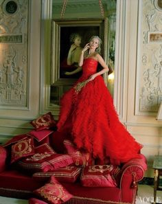 Kate Moss by Tim Walker for Vogue US April 2012