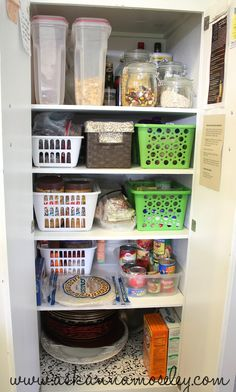 Pantry organization tips -- Ask Anna