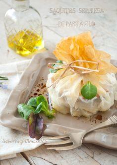 Saquitos de Pasta Filo