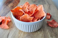 Have your guilty pleasure in a healthy way.  These chips are healthy and delicious!