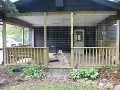 Dog Pen Plans | Dog kennel ieads | Dog Boarding Ideas