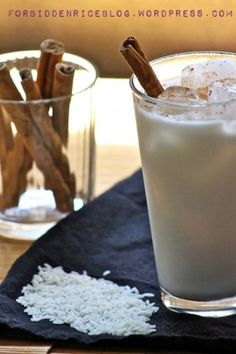 Homemade Horchata... god i want this now