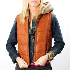Who likes the Puffy #Vest Trend? Jackets For Your Hip Alter Ego