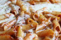 Italian Baked Ziti Recipe @createdbydiane