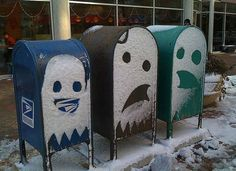 winter, pacman, pac man, funni, ghosts