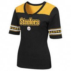 Pittsburgh Steelers Womens All You Got 1/2 Sleeve T-Shirt