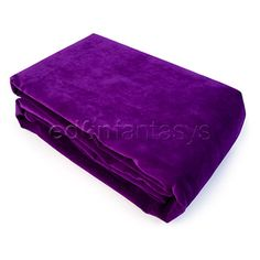 The softest blanket you will ever touch. Ever. And it's purple.