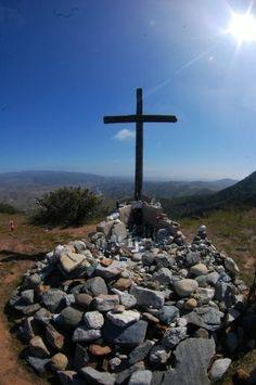 Cross Memorial... Camp Pendleton, California...