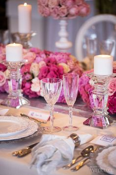 Place-setting | Jardin Rose | Romance of the French Garden Theme