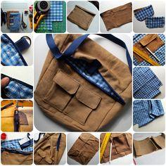 DIY: nature explorer bag