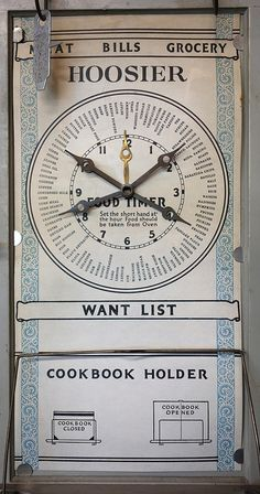 Early 20th Century Hoosier cabinet / The Planner* | Flickr - Photo Sharing!