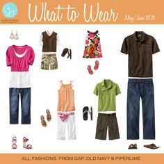What to Wear May/June family pictures, family outfits, family portraits, family photos, summer color, photo shoot, family photo sessions, family photo outfits, famili photo