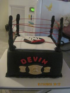 #WWE Birthday Cake