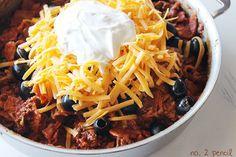 pencil, skillets, enchiladas, number 2, food, skilletenchilada, recip, yummi, skillet enchilada
