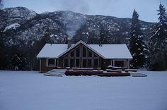beautiful mountian home