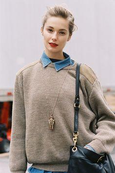 Vanessa Jackman: New York Fashion Week AW 2013 ♥