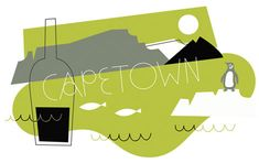 olimpia zagnoli  - Cape Town illustration