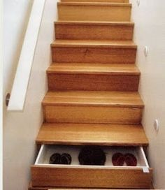 NEEDED - shoe storage you won't trip over  :-)