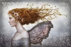 Mother of Pearl Faerie,   by Renae Taylor