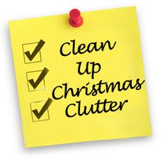 Post-Christmas Clean Up: Clutter Cutting Ideas for Year's End