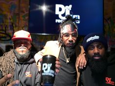 Dough From Da Go with recording artist Kid Ro and Gerry P of BootCamp Radio @ the #DefJam #Undisputed Docuseries Viewing & Listening Session Held @ Drink Haus Chicago
