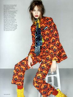 Karlie Kloss by Nick Knight for Vogue UK September 2012