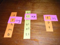 slider, chips, summer school, phonic, word families, phonemic awareness, camps, family activities, kid