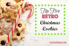 Top Five Retro Christmas Cookies