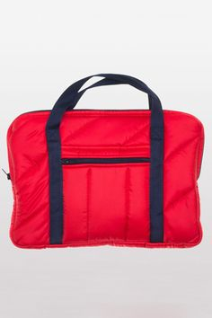 First Class All The Way: 10 Chic Suitcases That Go The Distance: American Apparel Quilted Laptop Bag