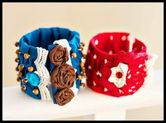 Skip the recycling. Use your soda cans to make  bracelet cuffs instead!