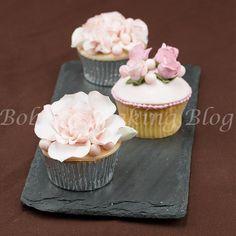 Vintage English Garden Cupcake