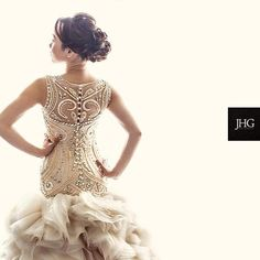Beautiful back detail #weddingdress