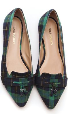 Preppy flats for fall