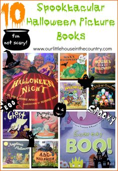 There are so many fantastic picture books about Halloween, however some can be quite scary especially for the more sensitive child. With that in mind we have compiled our favourite spooky stories ...