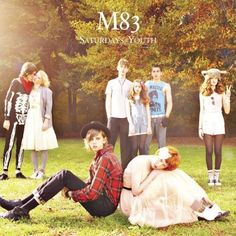 M83 album covers, music, m83, sky, ear, vinyl, saturday, youth, wedding party poses