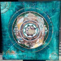 All sizes | Blue Mandala, via Flickr.
