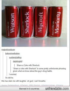"Why ""Share a Coke with Sherlock"" may not be the wisest ad campaign"