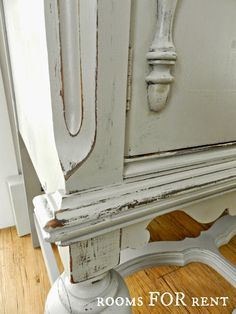 ~rooms FOR rent~: Painted Antique Buffet Reveal