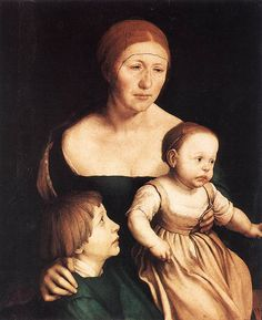 Hans Holbein the younger, Artist's Family