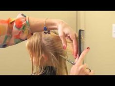 How to Do a Layered Haircut {Box Layers} // DIY Peppermint Lemonade - YouTube