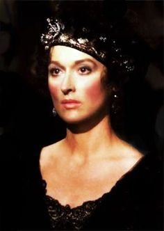 Meryl Streep as Karen Blixen in Out of Africa (1985)