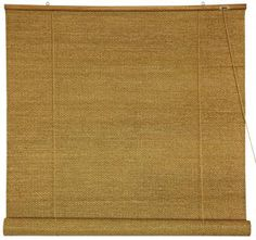 Woven Jute Roll up Blinds $39.00 I can see these on every window.