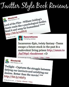 Twitter Style Book Reviews